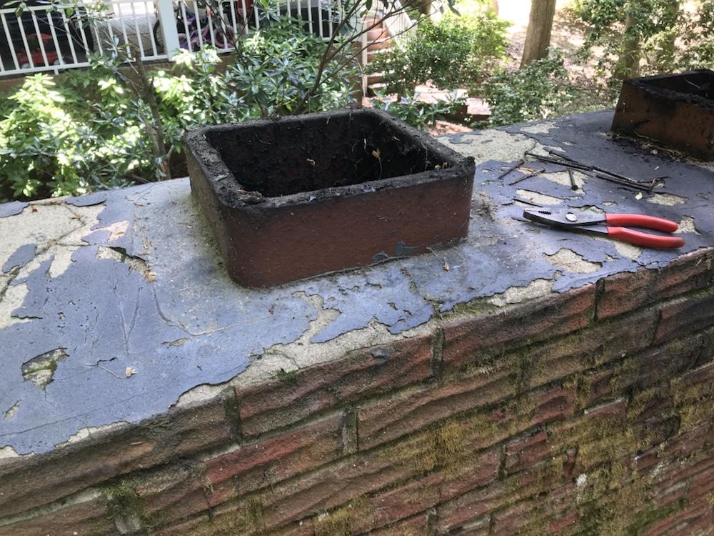 Chimney Crown Repair and New Flue Cap 1