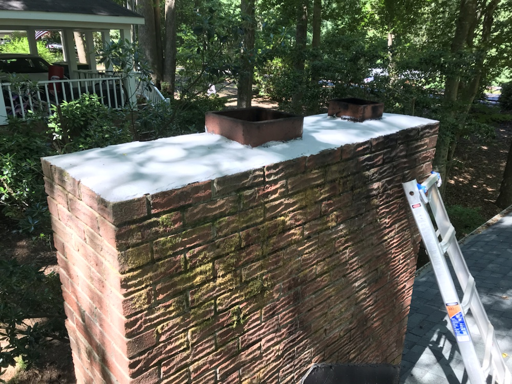 Finished Chimney RX - Brushable Crown Repair