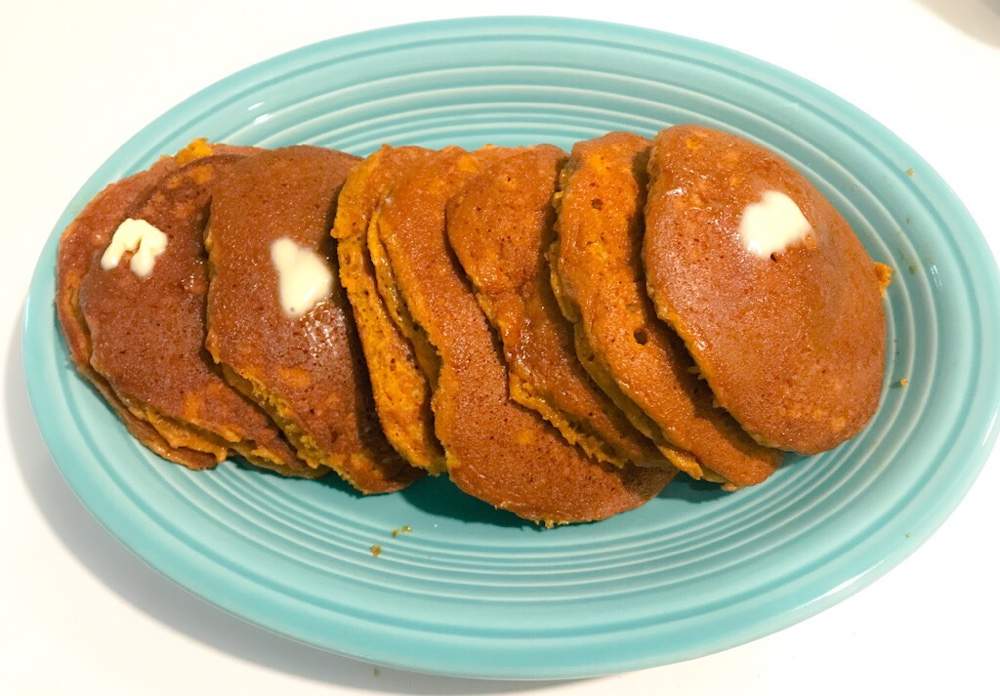 Fall Is Upon Us - Pumpkin Pancakes 1