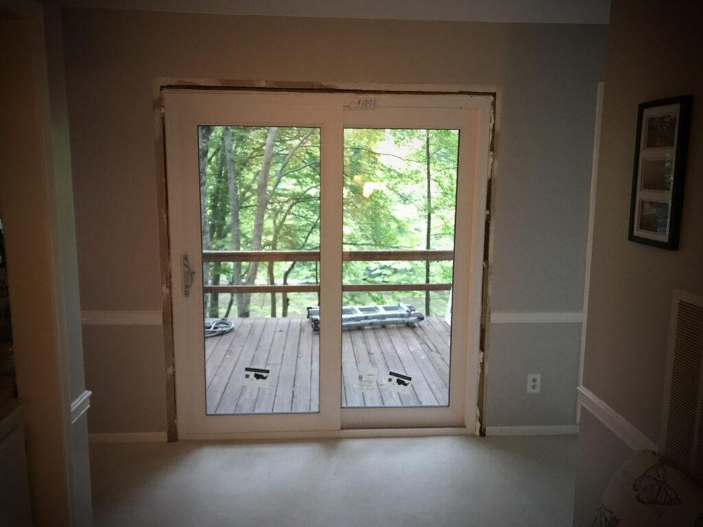 Window World 6ft sliding door