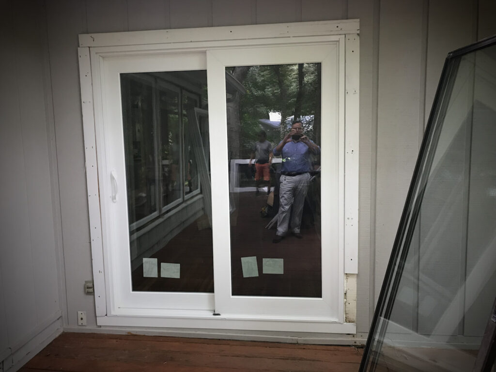 Window World 6ft sliding door Dining room