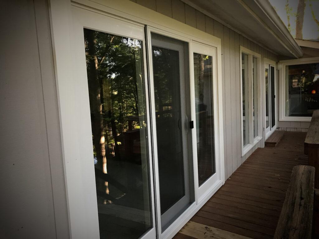 Window World 9ft 3 panel sliding door