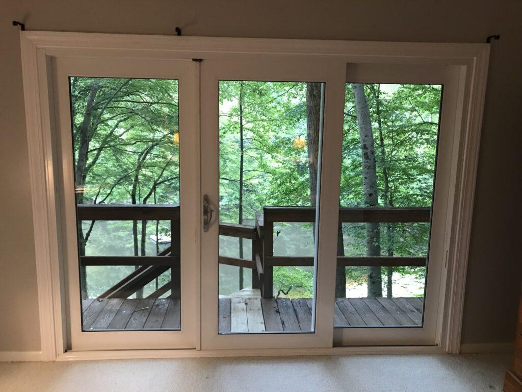Window World 9ft door 3 panes
