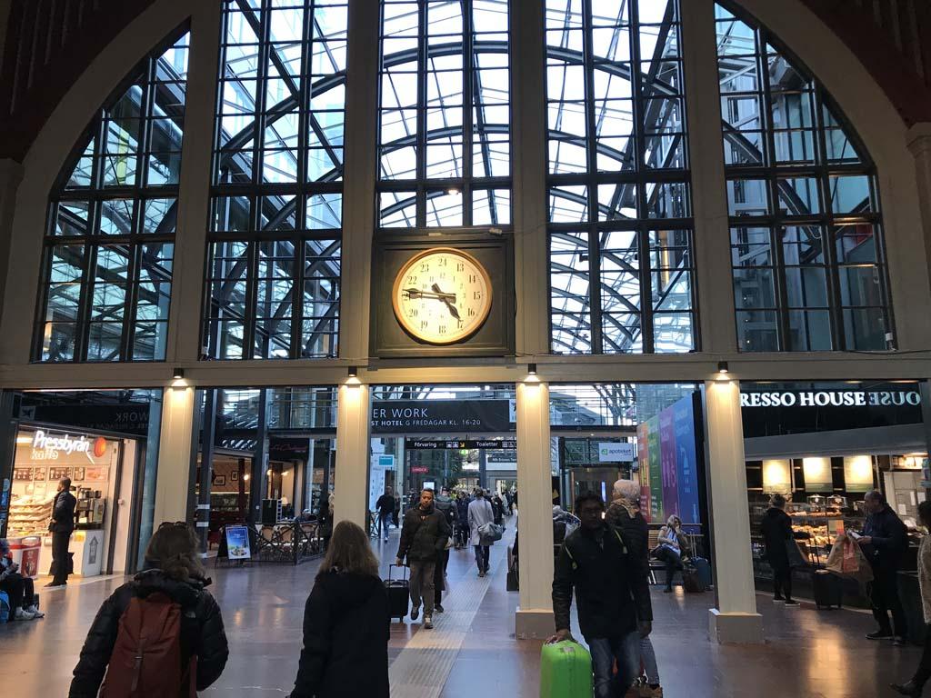 Train Station Gothenburg, Sweden