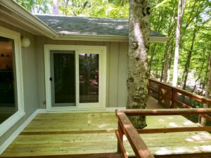 New Deck Boards and PVC Trim