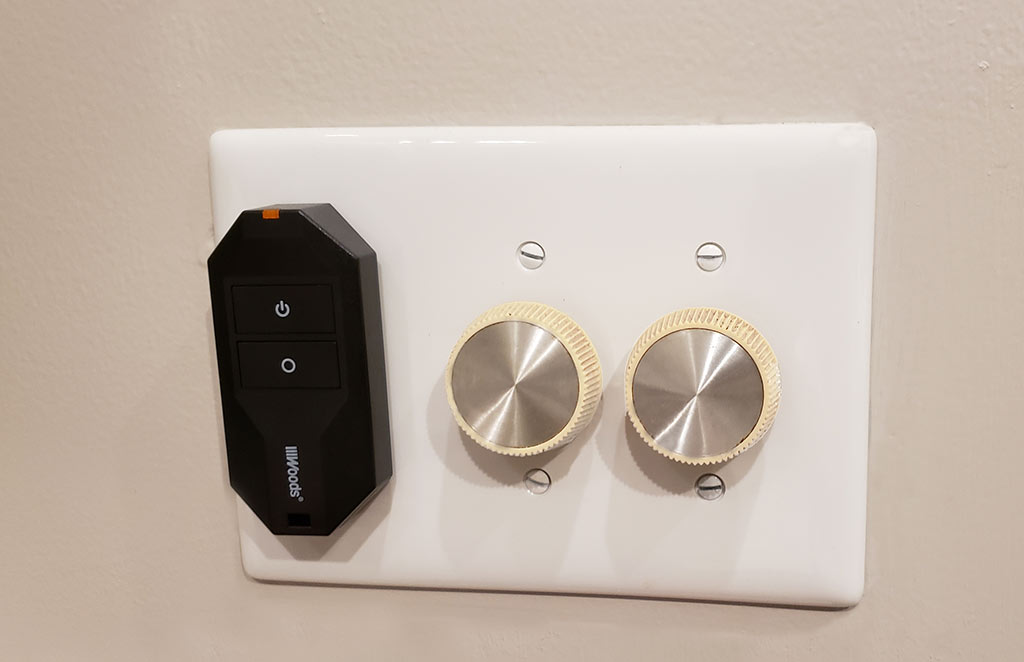 woods Wireless Extension cord on off switch