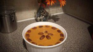 Sweet Potatoe cassarole ready to cook wide edited