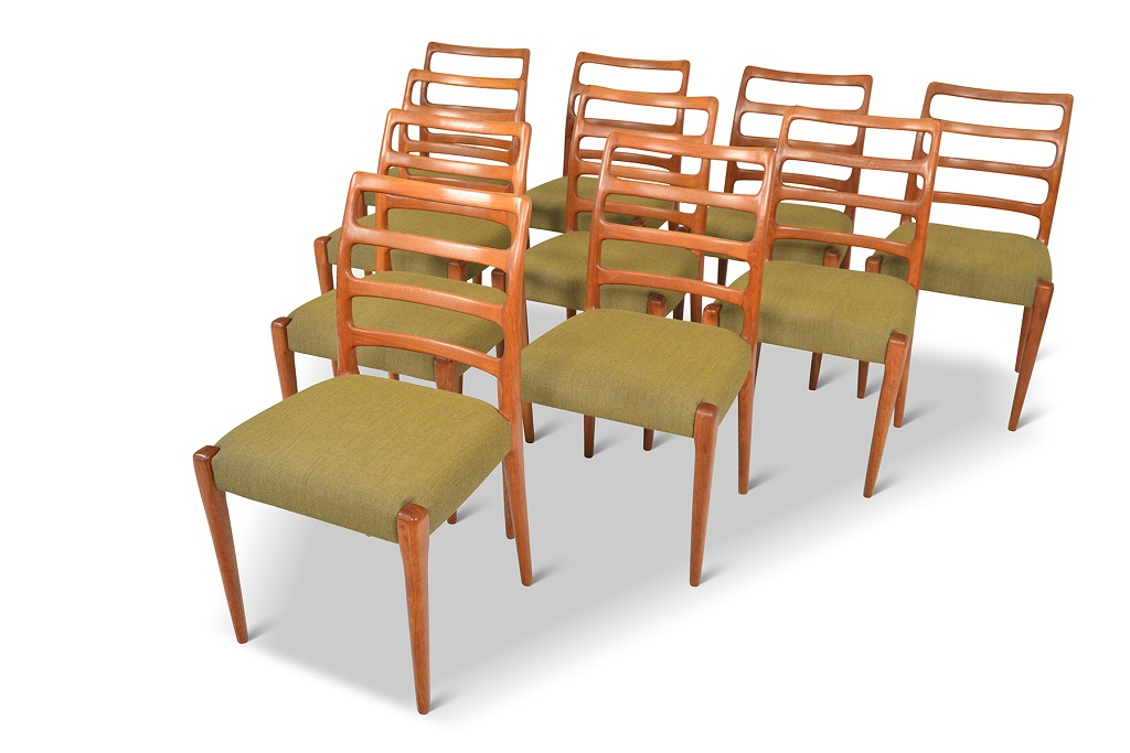 Danish MCM Chairs refinished