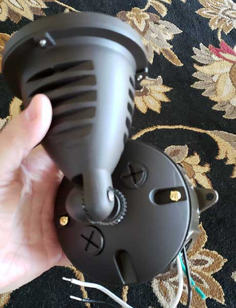Topele LED Spotlight lense mount