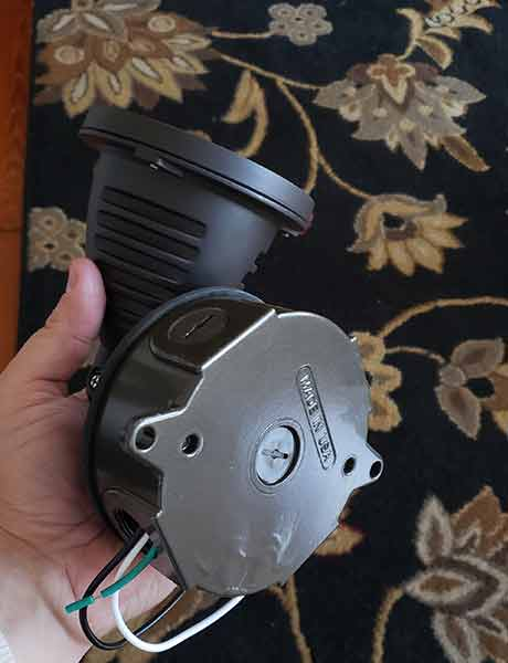 Topele LED Spotlight lense side