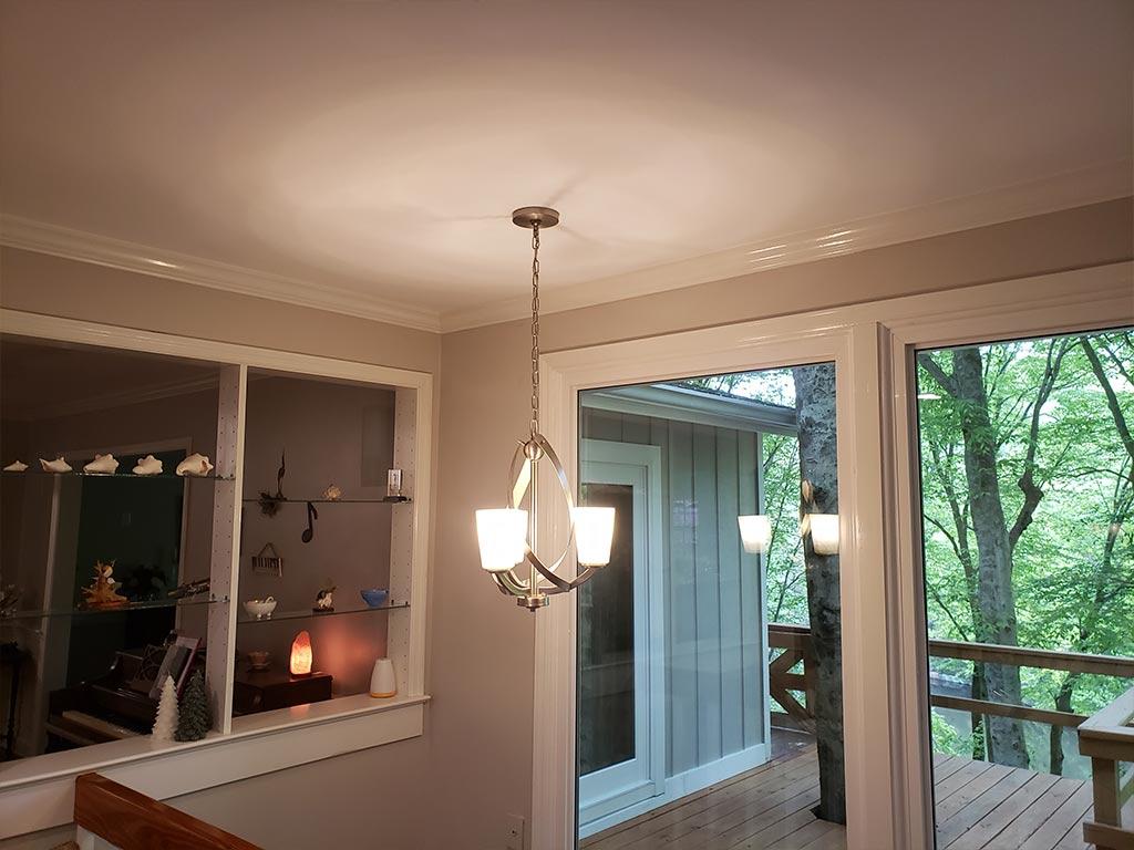 Old Silver modern chandelier